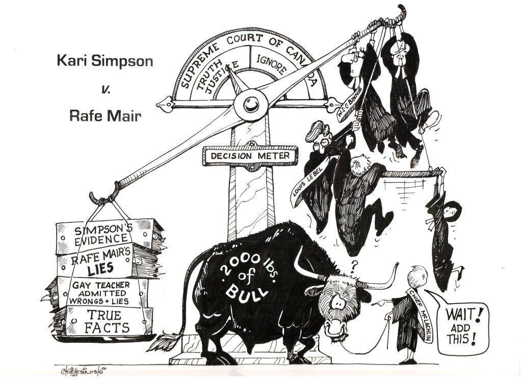 Kari Simpson vs. Rafe Mair