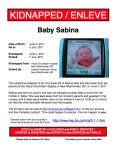 Baby Sabina Kidnapped